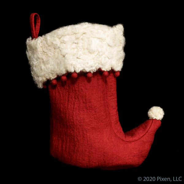 Claus Stocking by House of Pixen